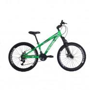 Imagem - Bicicleta Tuff25 Freeride Aro 26 Verde Neon Viking X cód: MKP000163000173