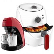 Imagem - Kit Red White Fritadeira e Cafeteira Single Cadence 220v cód: MKP000172002043