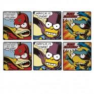 Imagem - Conjunto Porta Copos Simpsons Bartman C/6 Trevisan Concept cód: MKP000196000038