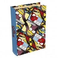 Imagem - Livro Caixa Simpsons Bartman 24x16x5cm Trevisan Concept cód: MKP000196000055