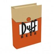 Imagem - Livro Caixa Simpsons Duff 24x16x5cm Laranja Trevisan Concept cód: MKP000196000056