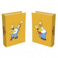 Imagem - Livro Caixa Simpsons Family 24x16x5 Amarelo Trevisan Concept cód: MKP000196000057