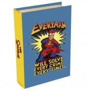 Imagem - Livro Caixa Simpsons Heroes 24x16x5cm Azul Trevisan Concept cód: MKP000196000058