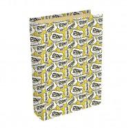 Imagem - Livro Caixa Simpsons 24x16x5cm Amarelo Trevisan Concept cód: MKP000196000059