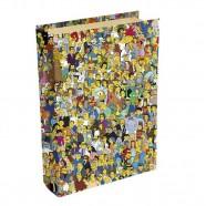 Imagem - Livro Caixa Simpsons Springfield 24x16x5cm Trevisan Concept cód: MKP000196000060