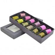 Imagem - Conjunto Anéis Green & Pink C/ 12 Original Trevisan Concept cód: MKP000196000258