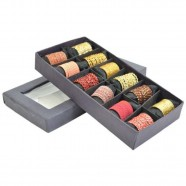 Imagem - Conjunto Anéis Ouro & Orange com 12 Trevisan Concept cód: MKP000196000259