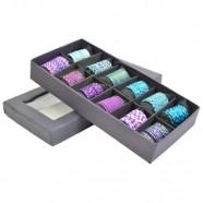 Imagem - Conjunto Anéis Purple & Blue com 12 Trevisan Concept cód: MKP000196000260