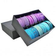 Imagem - Conjunto Pulseiras Purple & Blue com 12 Trevisan Concept cód: MKP000196000263