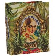 Álbum Brasil Abacaxi P Exclusivo 24x19x6cm Trevisan Concept