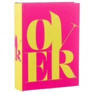 Imagem - Álbum Over Pink Exclusivo 18x13x4cm Trevisan Concept cód: MKP000196000278