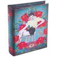 Imagem - Álbum Pin Up Azul P Exclusivo 18x14x5cm Trevisan Concept cód: MKP000196000282