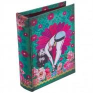 Imagem - Álbum Pin Up Verde P Exclusivo 18x14x5cm Trevisan Concept cód: MKP000196000283