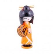 Imagem - Boneca Kokeshi Nail Chic Glamour 16x6x6cm Trevisan Concept cód: MKP000196000316