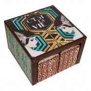 Imagem - Conjunto Mesa & 4 Baús Art Deco Exclusivo Trevisan Concept cód: MKP000196000428