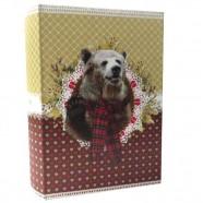 Imagem - Livro Caixa PetPop Urso Exclusivo 30x20x7cm Trevisan Concept cód: MKP000196000446