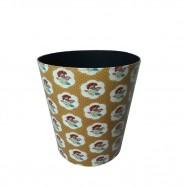 Imagem - Lixeira Fina Flor Exclusiva 27x25x25cm Trevisan Concept cód: MKP000196000450