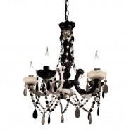 Imagem - Lustre Black and White Exclusivo 40cm Trevisan Concept cód: MKP000196000453