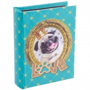 Imagem - Álbum Cachorro Pug P 18x14x5cm Trevisan Concept cód: MKP000196000540