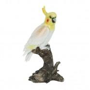 Imagem - Pássaro Decorativo Amarela G 25x13x10cm Trevisan Concept cód: MKP000196000553