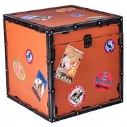 Imagem - Baú Trip Orange 26cmx26cmx26cm Trevisan Concept cód: MKP000196000830