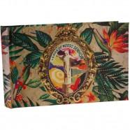 Álbum Brasil Cristo G Exclusivo 24x36x4cm Trevisan Concept