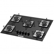 Cooktop a Gás 5 Queimadores Soft Vd PT Built Biv Blt 5q Prs