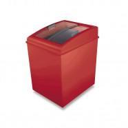 Freezer Horizontal 150 Litros Fh150c Vermelho 220v- Ártico