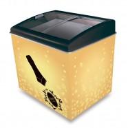 Imagem - Cervejeira Horizontal 2 em 1 Cervejeira e Freezer 300L CA300T Gold Queen Ártico 110V cód: MKP000227000089