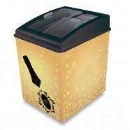 Imagem - Cervejeira Horizontal 120L 2 em 1 Cervejeira e Freezer CA150T Gold Queen Ártico 110V cód: MKP000227000116