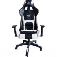 Cadeira Gamer com Encosto Reclinável Branca - BRX
