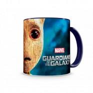 Caneca Artgeek Guardiões Da Galáxia Baby Groot II Azul