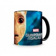 Caneca Artgeek Guardiões Da Galáxia Baby Groot II Preta