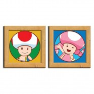 Kit Pôster Chassi Toad - Artgeek