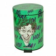 Lixeira Metal Dc Comics Joker Verde 5L - Artgeek