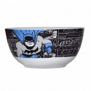 Set 2 Pcs Bowl Porcelana Dc Batman Attacking Position - Artgeek