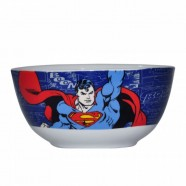 Set 2 Pcs Bowl Porcelana Dc Superman - Artgeek