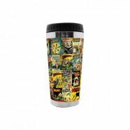 Copo Artgeek Térmico Plástico Dc Comics 6,5 X 8 X 17,5 Cm