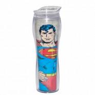 Copo Artgeek Térmico Plástico Silhouette Dco Superman Body
