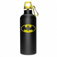 Garrafa Alumínio Dc Batman Logo Preta - Artgeek
