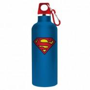 Garrafa Alumínio Dc Superman Logo Azul - Artgeek