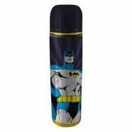 Garrafa Térmica  Dc Batman Aço Inoxpp Preta - Artgeek