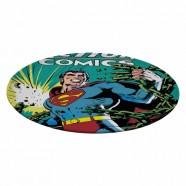 Prato Giratório Melamine DC Superman with Green Currents - Artgeek