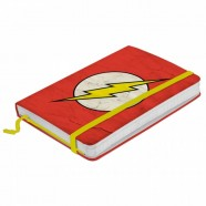 Caderneta De Anotação Dc The Flash Logo Fd Vermelho A6 - Artgeek