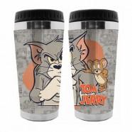 Copo Artgeek Térmico Plástico Hb Tom And Jerry