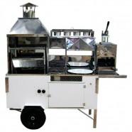 Carrinho 4 em 1 Para Hot-dog, Pastel, Batata-frita, Churrasco R2 66853