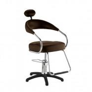 Imagem - Cadeira para Salao de Beleza Futura Plus Tabaco Dompel cód: MKP000263000070