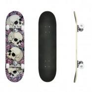 Skate Infantil Completo Caveiras DM Toys d9fd971cfd4