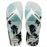 Sandália Chinelo Surf  Branco Preto 41 / 42 Havaianas