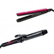Chapinha Liss e Curl + Modelador Cachos Jumbo Arno - Bivolt